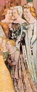 Tommaso da Modena, Storie di sant'Orsola, Chiesa di Santa Caterina a Treviso