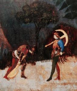 """""""Niccolò da Tolentino alla testa dell'esercito fiorentino"""", Paolo Uccello, 1436, London National Gallery"""