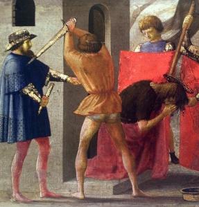 """""""Crocifissione di San Pitro"""", Masaccio, 1428, Berlino"""