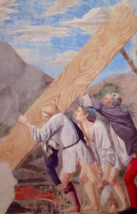 """""""Il trasporto del Sacro Legno"""", Arezzo"""