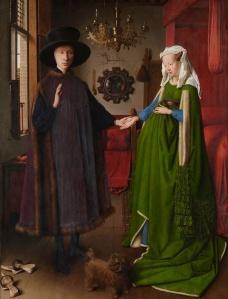 """""""Ritratto dei coniugi Arnolfini"""", 1434, National Gallery, Londra"""