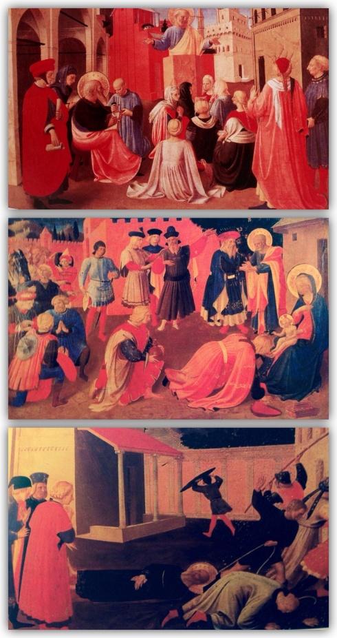 """""""Predica di San Petro alla presenza di San Marco"""", 1434, Museo di San Marco, Firenze"""