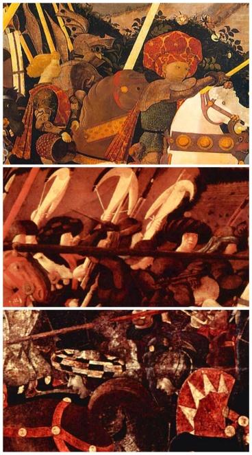 """Particolari de """"La battaglia di San Romano"""", 1432"""