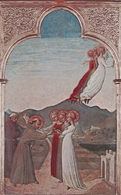 Sassetta: Matrimonio mistico di San Francesco