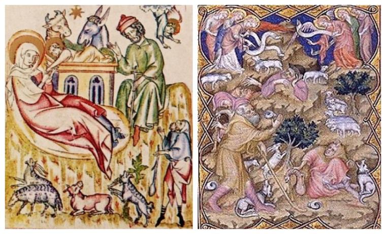 La nascita e l'annuncio ai pastori