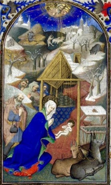 Libro d'Ore francese, Maestro di Bedford, 1410