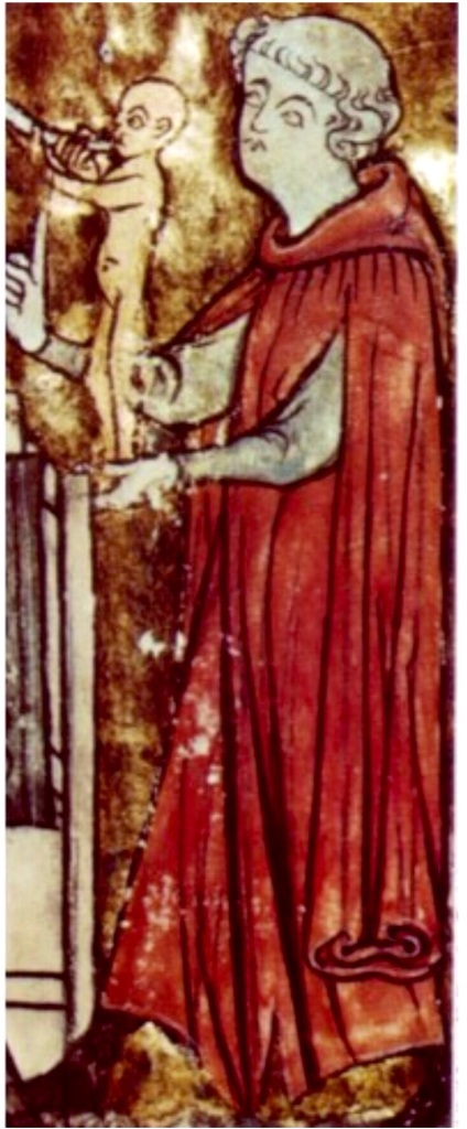 Miniatura inglese seconda metà XIII secolo