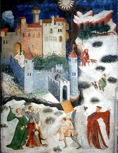 Castello di Buonconsiglio, Trento, Maestro Venceslao, 1390