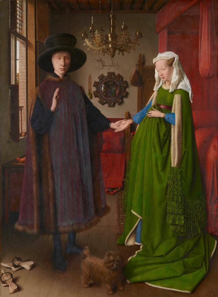 Coniugi Arnolfini, Jan Van Eyck, 1434