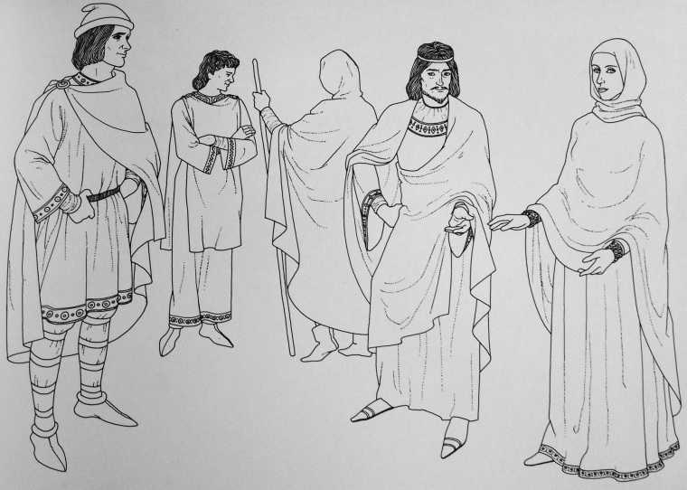 "Immagine tratta da ""History of Fascion"", J. Anderson Black - Madge Garland - Frances Kennett, Orbis, 1980"
