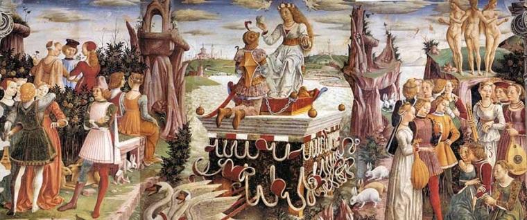 "Francesco del Cossa ""Trionfo di Venere"", 1468"