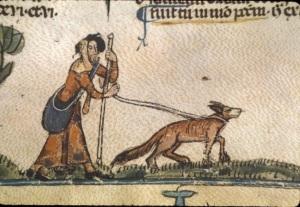 Il pellegrino e il cane, calendario decretato da Gregorio IX, XIII secolo