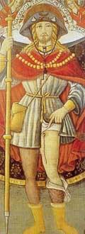 San Rocco, pellegrino