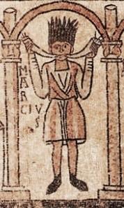 Marcius cornator alla basilica di San Michele Maggiore