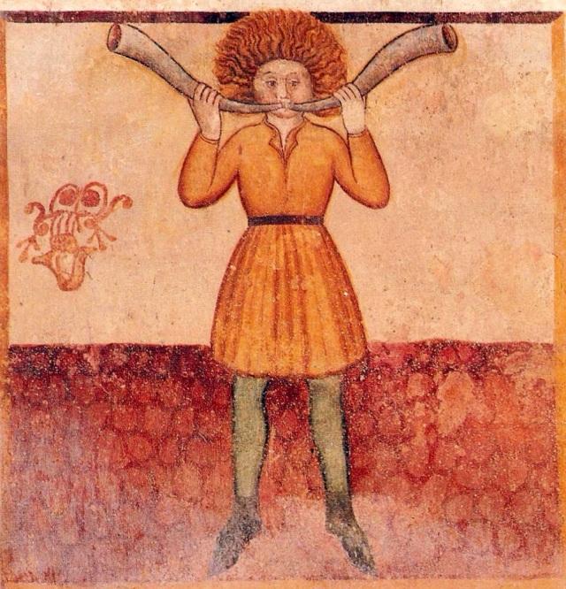 Marcius cornator alla chiesa di Santa Maria