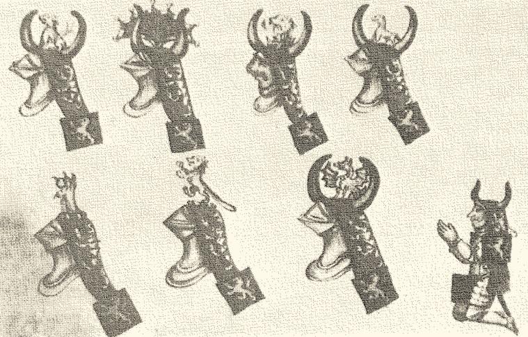 Cimieri e cercine della famiglia Miniutolo Capece, Codice corsiniano, Roma