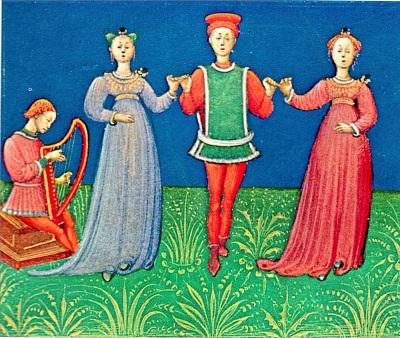 I tre danzatori, Guglielmo da Pesaro, 1440/63