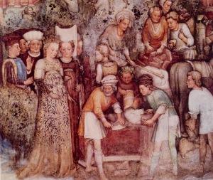 """Storie della regina Teodolinda"" Fratelli Zavattari, Monza 1440"
