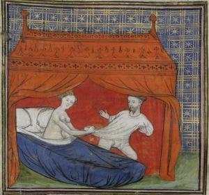 Biblioteca Nazionale di. Francia, Arsenal 3480, dettaglio del foglio 33, 1405