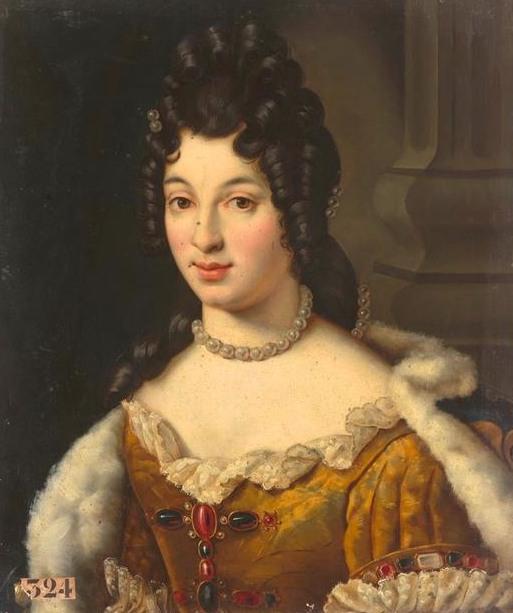 Ritratto di Maria Adelaide di Savoia, duchessa di Borgogna
